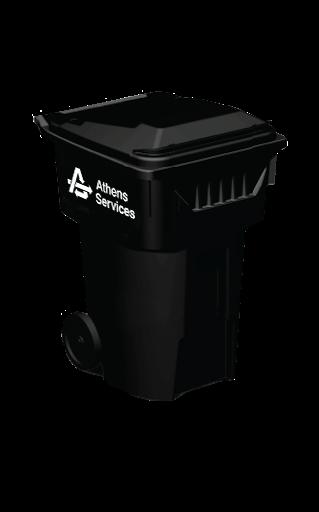 Black Landfill Container