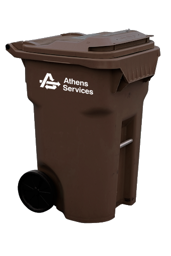 Brown Horse Manure Container